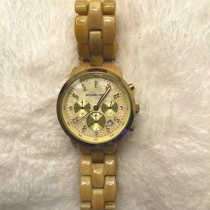 Michael Kors Blonde Tortoise Women's watch